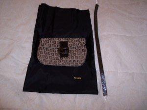 Fendi Handbag 8BR000 Zucchino Beige Brown NWT