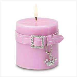 """BLING"" CANDLE"