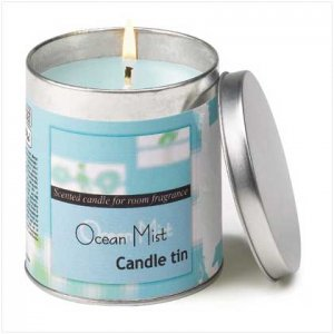 OCEAN MIST SCENTED CANDLE TIN