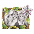 NEW! JEWELED HIBISCUS PHOTO FRAME-ITEM #39033-BUY 1, GET 1 FREE