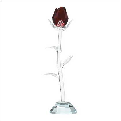 GLASS ROSE-ITEM #31898