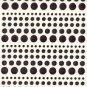 Me & My Big Ideas Black Polka Dots