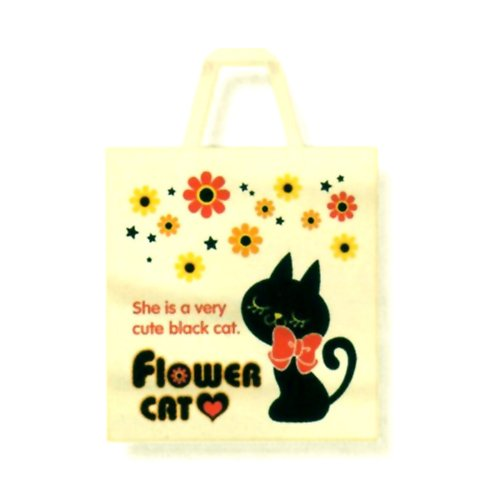 Flower Cat Tote Bag