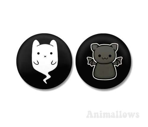 Animonster Magnets Set of 2
