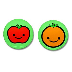 Happy Fruit Mini Buttons Set of 2