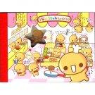 Crux Natta Chan Die-Cut Small Memo Pad: Cafeteria