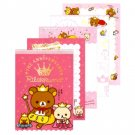 San-X Rilakkuma 5th Anniversary Memo Pad with Stickers