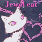 "San-X Jewel Cat ""Hearts"" Small Memo Pad"