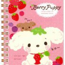 San-X Berry Puppy Pocket Spiral Notebook