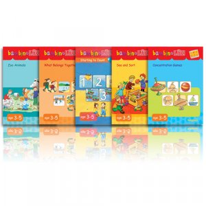 bambinoLUK Brain Training Early Bloomer Collection Set 1