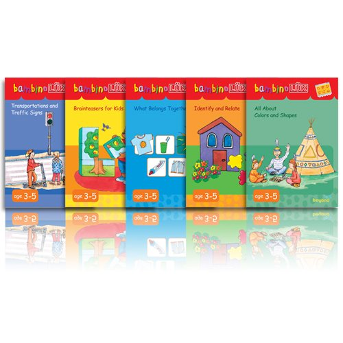 bambinoLUK Brain Training Early Bloomer Collection Set 3
