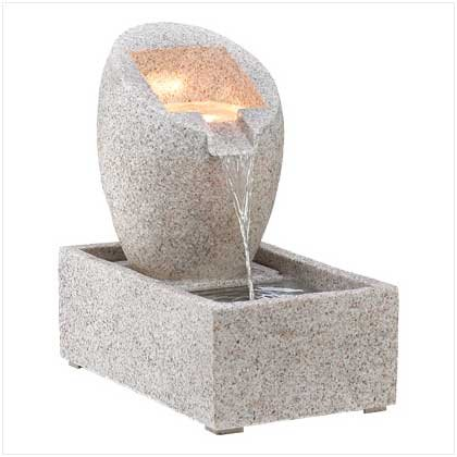 NEW !!  ABSTRACT SCULPTURE FOUNTAIN