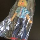 Vintage 1950s 1960s Gromada Polish peg wooden doll 7 inches #21