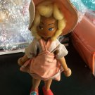 Vintage 1950s 1960s Gromada Polish peg wooden doll 7 inches #06