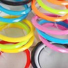 "3pcs Bangle Acrylic 3"" Wide W Dialmond CutColor Asst/DZ/DZ 6 Color Asst/DZ"