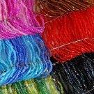 Bracelet W 12string Beads Stretch/DZ 6color asst
