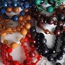 Bracelet & Earring Sets Silky Pearl Ball W Beads/DZ 6 Color Asst