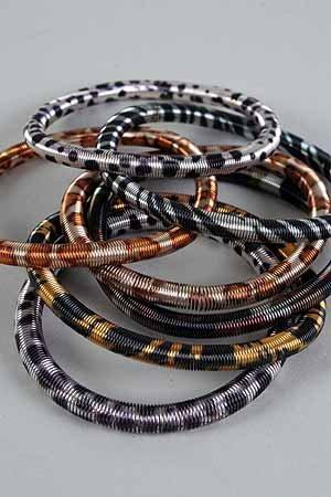 Bracelet Animal Print Asst Spring/DZ **Color asst**
