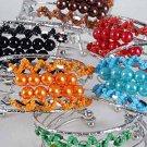 Bracelet Bangle Color Pearl W Beads Asst/dz ** New Arrival** 6 Color Asst