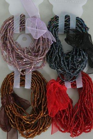 Bracelet Beads Asst Colors/DZ Stretch**HOT**