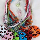 Necklace Sets Animal Print W Circle Disk/DZ ** New Arrival** Color Asst