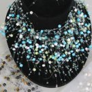 Necklace Sets Cateyes Color Asst/DZ **HOT**