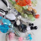 Necklace Sets Lucite W Pearl Beads/DZ ** New** 6 color Asst **Made For the Chidren Size**
