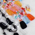 Necklace Sets Lucite With Oblong Block/DZ ** New arrival** 6 Color Asst