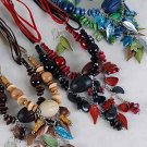 Necklace Sets Wood Color Asst/DZ **NEW** Color Asst