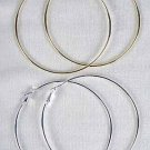 Earrings 9cm Jumbo Hoop Gold or Silver/DZ ** New Arrival** 9CM Choose Gold or Silver