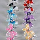 Earrings Dragonfly Epoxy W Rhinestone/DZ ** New Arrival** Color Asst,French Post