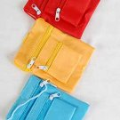 "Purse, Neck Satin 4.75"" x 4"" Asst Colors/Dz 6 Color Asst"