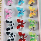 Rings Drangfly Epoxy With Rhinestones/DZ Color Asst**Adjustable**