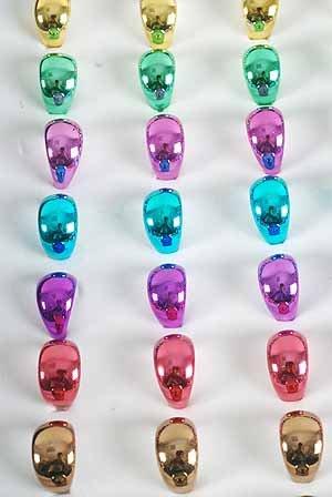 Rings Metallic 36pcs/Dy **Pre Size Asst** Colkor Asst