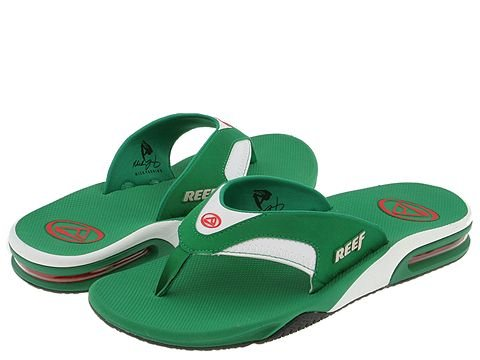REEF Fanning Mens Sandals size 10 NWT bottle opener