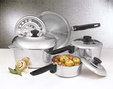 NEW Magnalite Classic 8-Piece Cookware Set  NIB Fast shipping