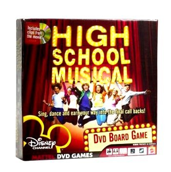 Disney Channel's High School Musical DVD Board Game New in Box