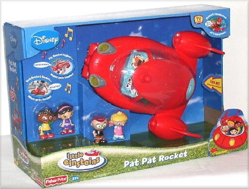 Disney's Little Einsteins Pat Pat Rocket + 4 characters *New in Box*