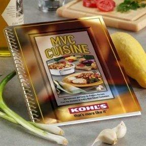 MVC Cuisine spiral-bound cookbook Brand NEW
