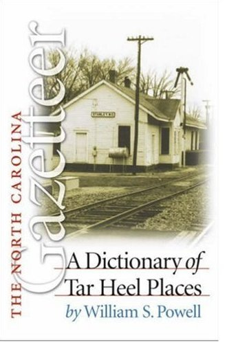 The North Carolina Gazetteer (Paperback) Like NEW Collectible