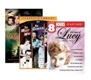 NEW Classic Comedy DVD Set 10+ DVDs Lucy, 3 Stooges, Laurel & Hardy, more - NIB Sealed