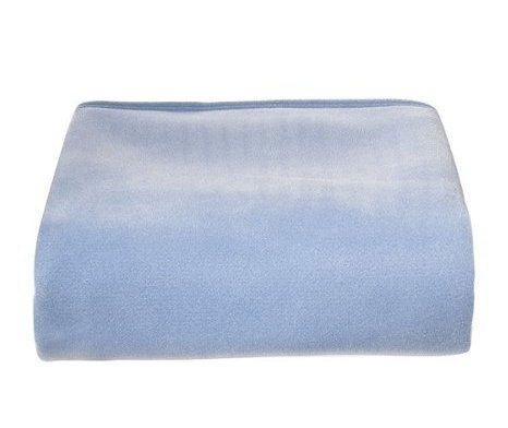 NEW China Blue Vellux Blanket Full Queen *softest blanket* NIP
