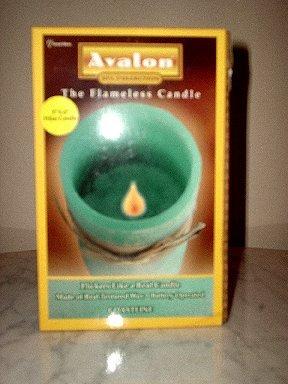 Avalon Flameless Candle (scent: COASTLINE) Brand NEW