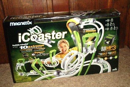 NEW MAGNETIX ICOASTER MP3 MUSIC STUDIO ROLLER I COASTER