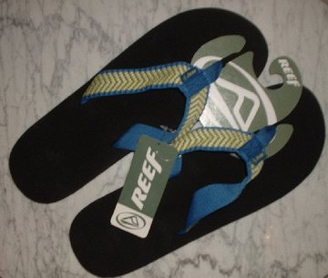 New REEF King Smoothy sandals flip flops NWT Mens 13