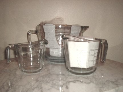 Anchor Hocking 3-Piece Mix and Measure Glass Bowls NEW