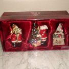 Royal Albert Old Country Rose Musical Ornaments *Santa At Work* Brand NEW in box