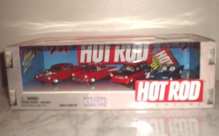 NEW Johnny Lightning Hot Rod Set diecast cars toy NIB