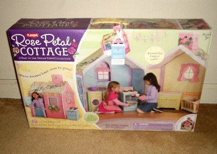 Hasbro Playskool Dream Town Rose Petal Cottage *NEW in Box*