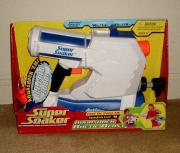 Super Soaker Aqua Shock Arctic Blast *Brand New*
